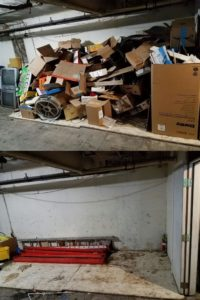 junk b gone - seattle garage junk hauling before and after